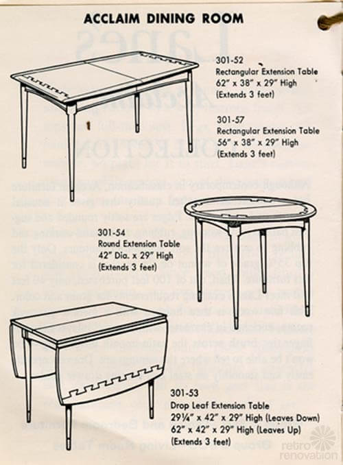 lane-acclaim-dining-tables