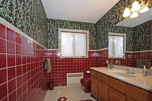 vintage-burgundy-and-grey-tiled-bathroom