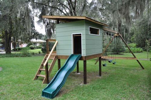 PDF DIY Mid Century Modern Playhouse Plans Download metal patio ...