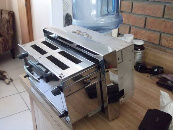 Vintage Modern Maid Built In Toaster Retro Renovation