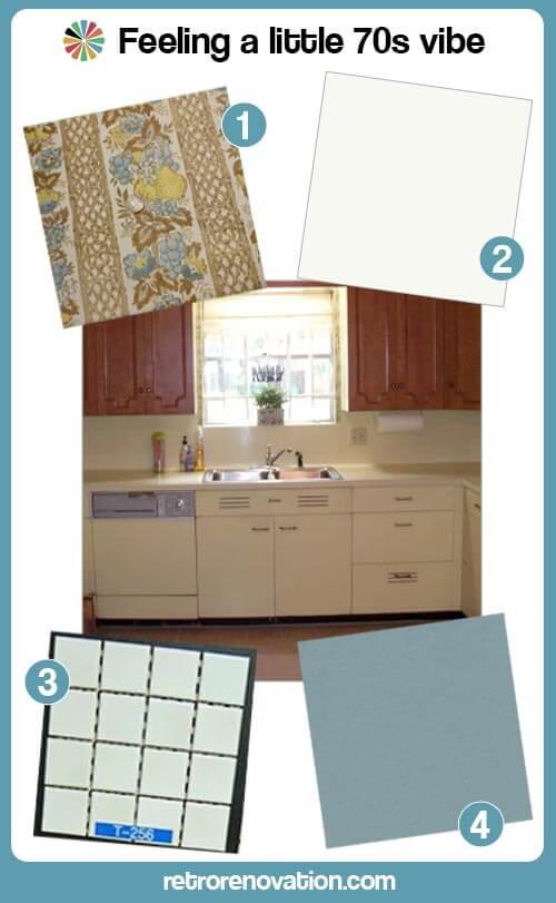 70s kitchen design