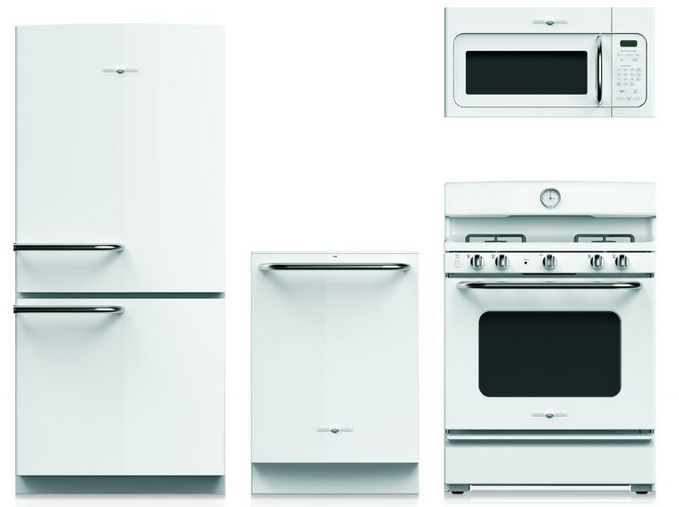 New White Appliances ~ Breaking news ge to introduce retro style kitchen