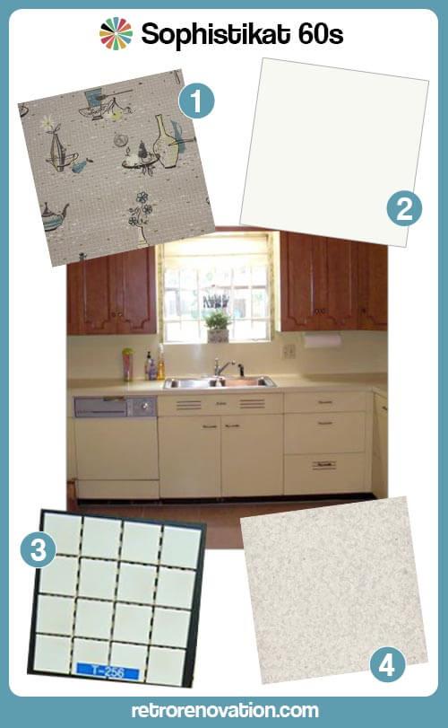 60s kitchen design