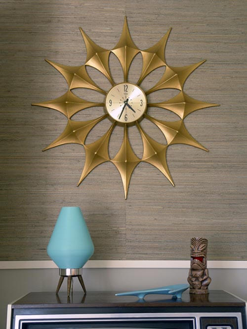 27 Awesome Midcentury Vintage Wall Clocks 331 In Our