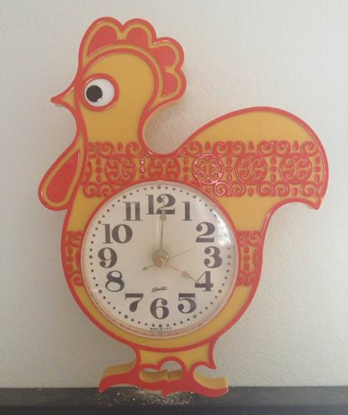 rooster-clock
