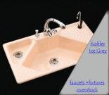 vintage kohler sink