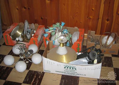 NOS vintage lighting