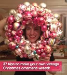 how-to-make-vintage-ornament-wreath