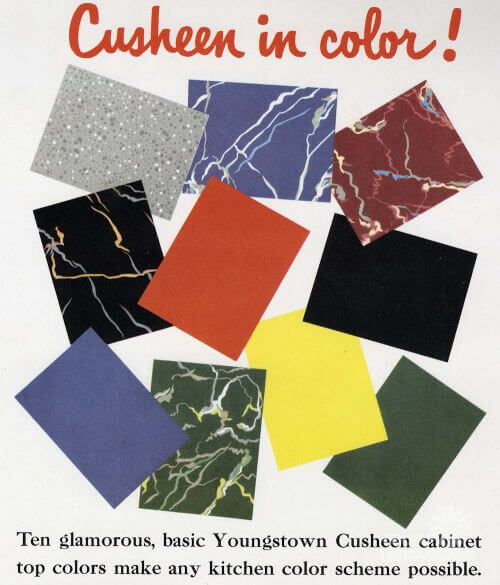 retro counter tops cusheen