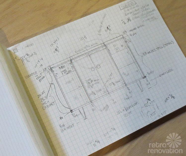 mid century vanity plans. Kate builds a mid century modern bathroom vanity   total cost