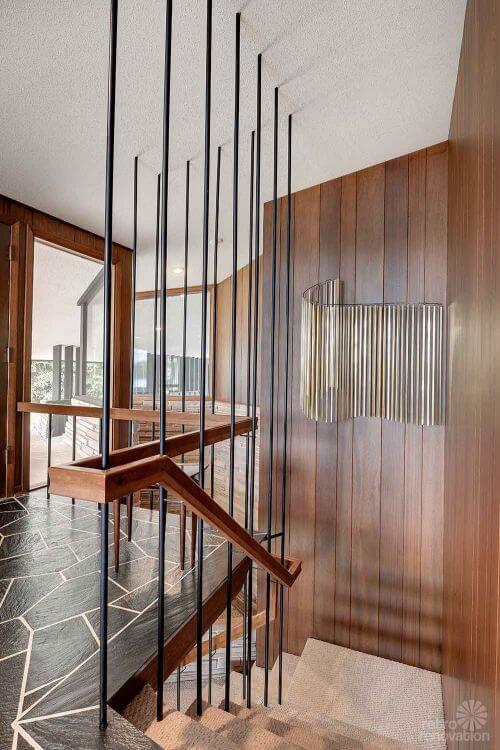 retro modern staircase