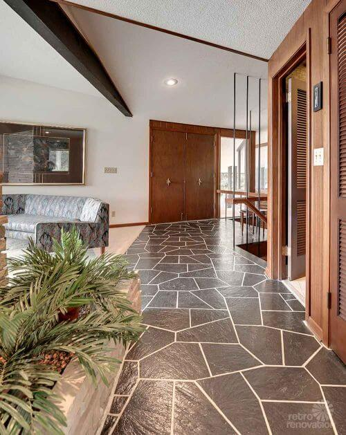 Stunning spectacular 1961 mid century modern time capsule Mid century modern flooring