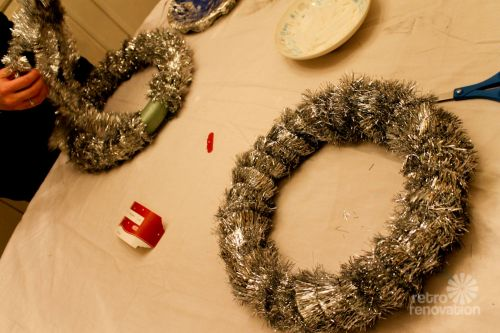 wrap wreath forms