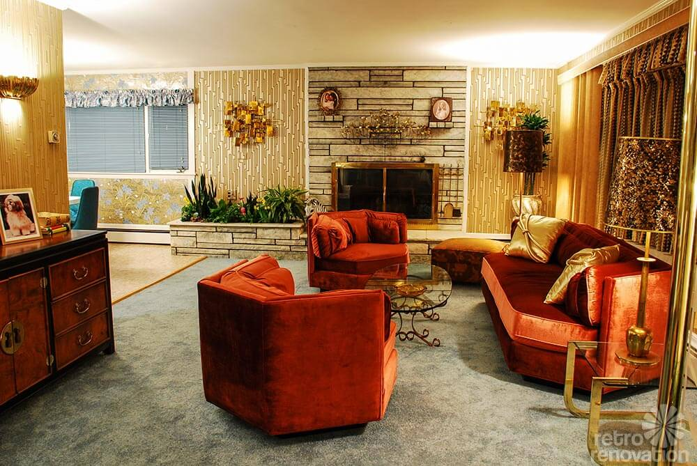 American hustle 1970s interior design full of artifice for Interior design 70s house