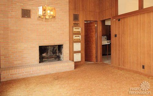 Warm and beautiful 1962 mid-century modern brick ranch ...