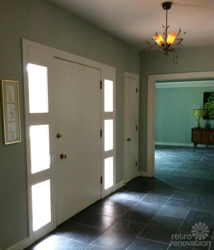 Mid Century Modern Foyer : Robert and caroline s mid century home with dreamy st