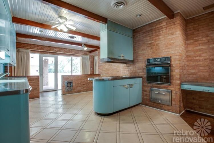 1954 Texas Time Capsule House Original Cork Floors