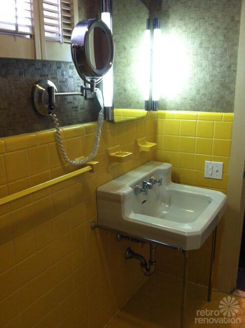 yellow-retro-tiled-bathroom