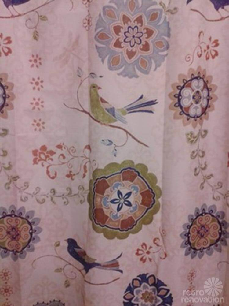 Curtains for bathroom window in shower - Retro Design Dilemma Adding Color To Terri S 1960s