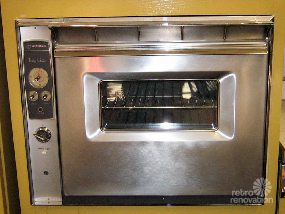 1960s Wall Oven Stainless Steel Wall Oven