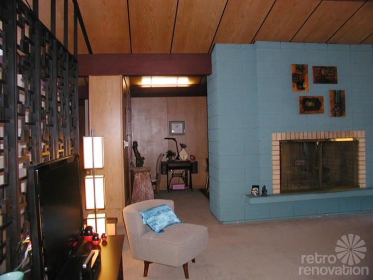 Interesting Living Rooms Brick Fireplaces