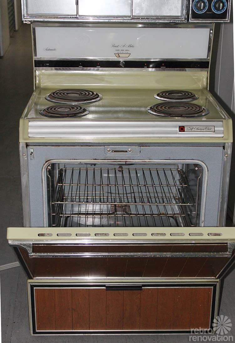 Rare vintage Sears Kenmore range with pivoting doors ...