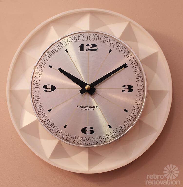 Vintage Electric Wall Clock 109