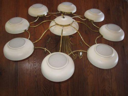 vintage lightolier chandelier