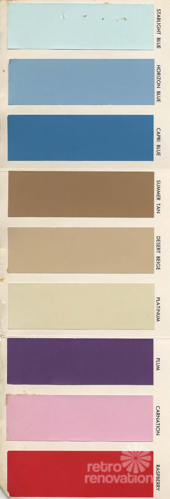 18 colors for 1960s St Charles steel kitchen cabinets  Retro