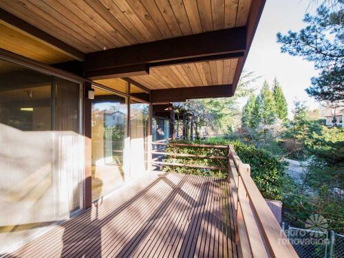 mid century modern portland time capsule house