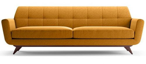 midcentury modern style sofa hughes by joybird furniture