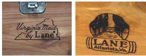 lane and virginia maid logos