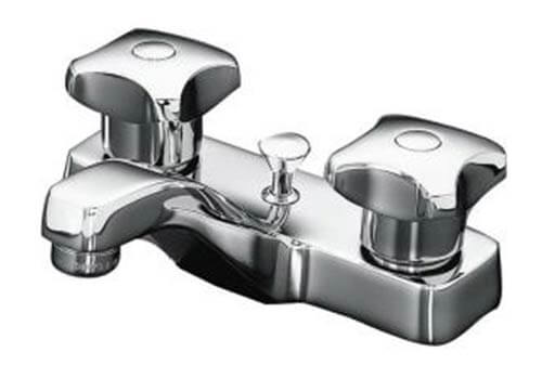 14 four inch center bathroom sink faucets suitable for a Mid century modern bathroom faucets