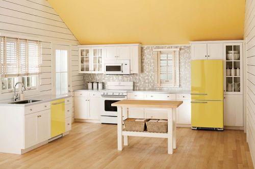 yellow-retro-style-refrigerator