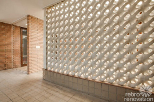 Decorative Cement Blocks : Stunning midcentury modern house in fort worth