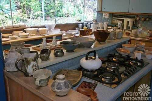 mid-century-dishes-in-kitchen