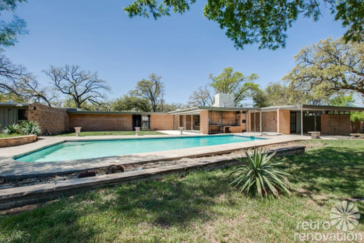 Stunning 1955 Midcentury Modern House In Fort Worth
