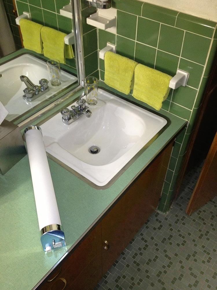 Globe Vanity Light Bathroom