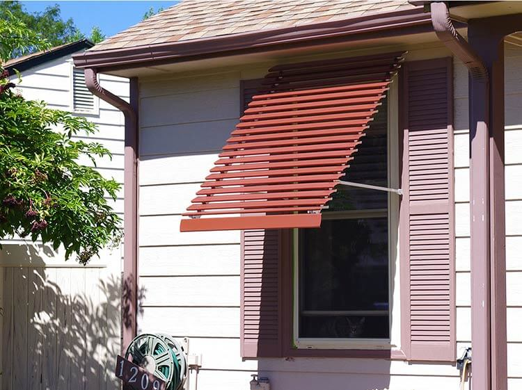 We Discover A New One Stop Source For 44 Different Styles Of Window Awnings Retro Renovation