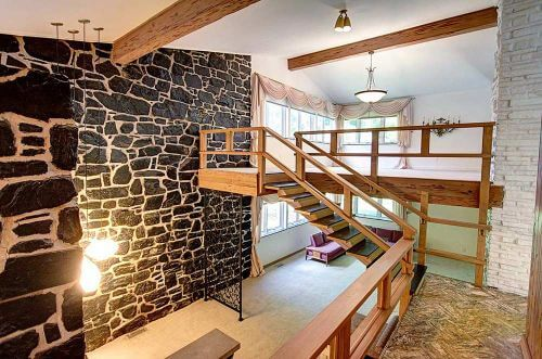Dramatic 1959 Split Level Time Capsule House In Same
