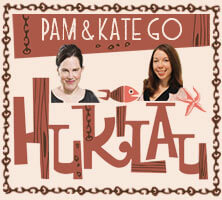 Pam and kate go Hukilau