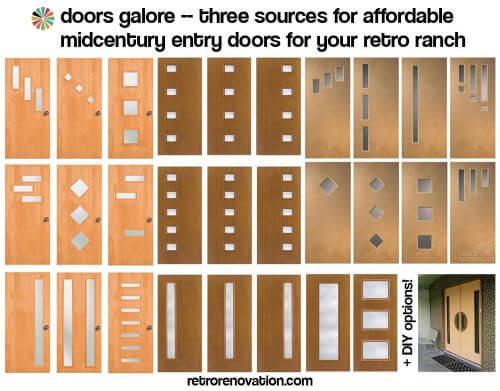 Accessories hardware archives retro renovation - Mid century exterior doors ...