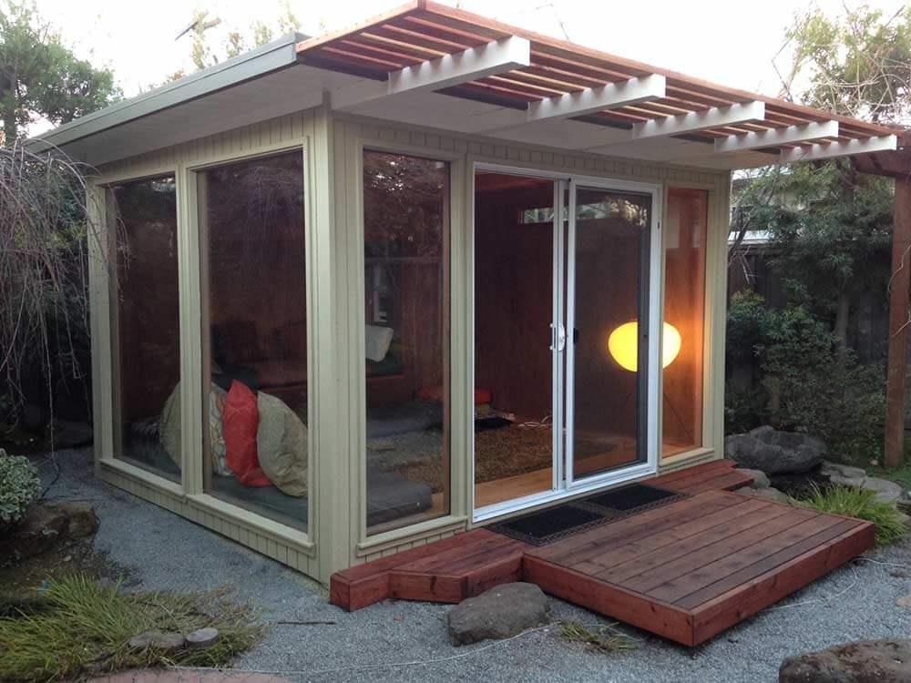 Backyard Eichlers Mid Century Modern Sheds Eichler