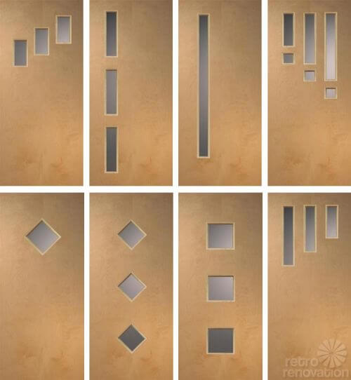 Doors Galore 8 Places To Find Midcentury Modern Entry Doors DIY Tips Re