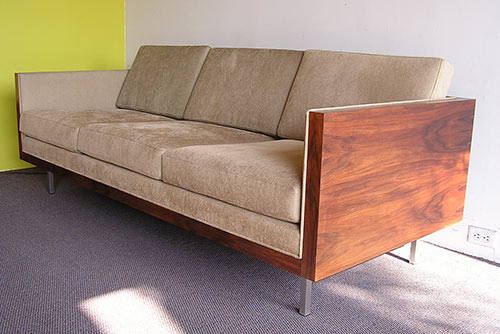 futurama furniture mid century modern sofas used on mad men retro renovation. Black Bedroom Furniture Sets. Home Design Ideas