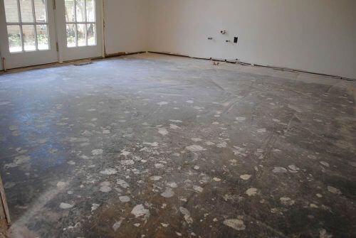 refinishing concrete floors