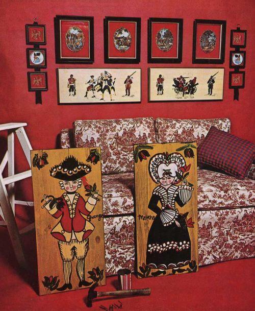bicentennial chic vintage ethan allen