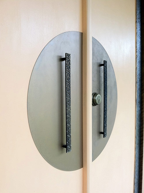 3 sources for midcentury modern door backplates aka escutcheons + ...