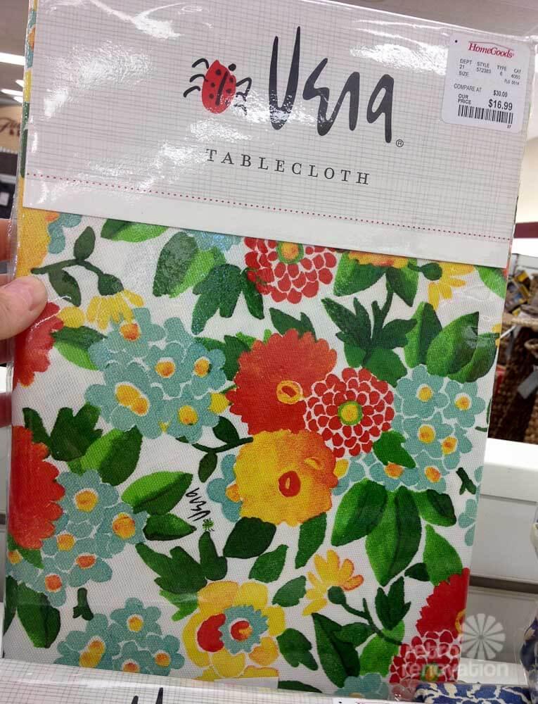 20 Vera Neumann Design Tablecloths At Home Goods Kate
