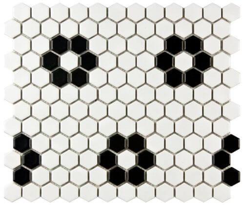 flower-black-hex-tile
